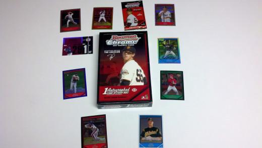 2007 Bowman Chrome Baseball Cards