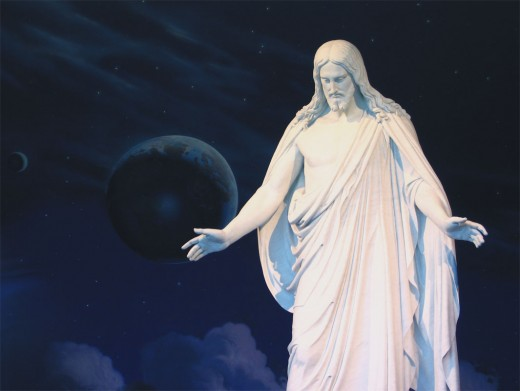 The Christus at the Temple Square Visitor's Center