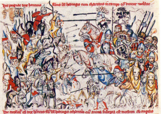 The Battle of Liegnitz in Poland saw the Mongols destroy the Silesian Army, thus leaving the rest of Europe. But unforseen circumstances prevented any further advance...