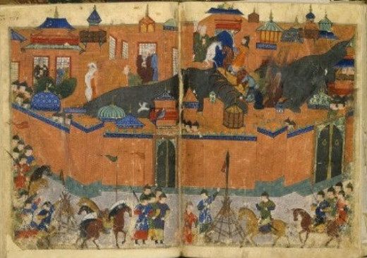 The Mongols capture of Baghdad in 1258 is considered among the darkest moments in all Islamic history.
