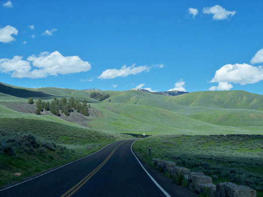 An Amazing shot of Lamar Valley