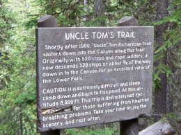 Well worth the hike to the bottom of Lower Yellowstone Falls, but it is a very strenous hike back to the top.