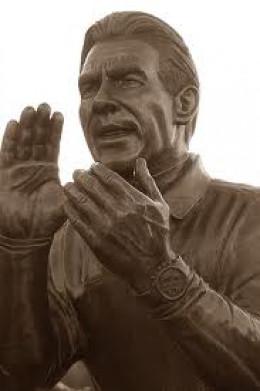 The stature of Nick Saban at Bryany-Denny Stadium