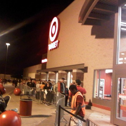 This Target opened at 10 p.m. on Thanksgiving night for the Black Friday sales.