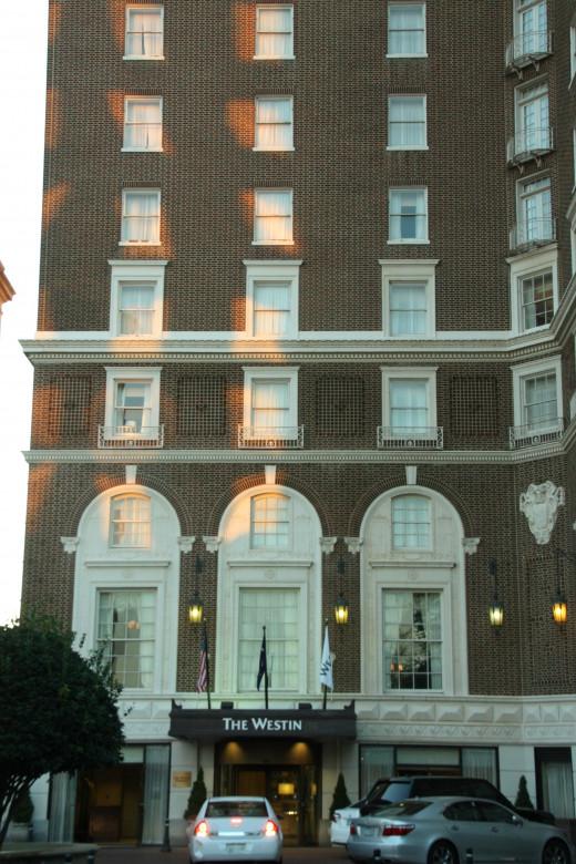 The Rebuilt Westin Hotel