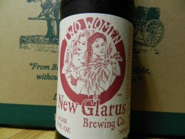 Two Women lager label by New Glarus Brewing Company
