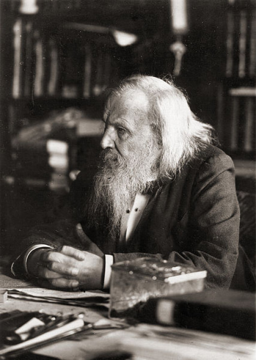 Dmitri Mendeleev is widely credited with creating the first Periodic Table of Elements.