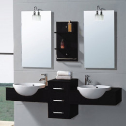 The Modus is highly customizable and configurable, making it a great choice for the control-oriented bathroom expressionist!