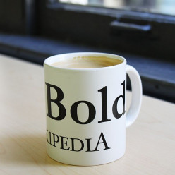 COFFEE MUG but your name isn't anywhere in sight.