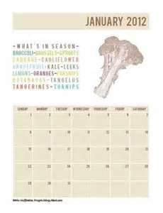 A frugal calendar