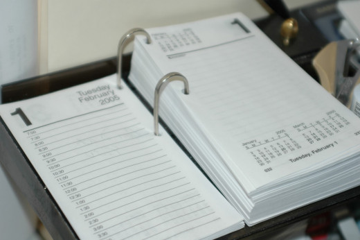 A planner is essential to balancing an academic life and social life.