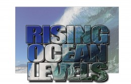 Ocean levels are rising as the Climate Changes, melting the Arctic ice cap.