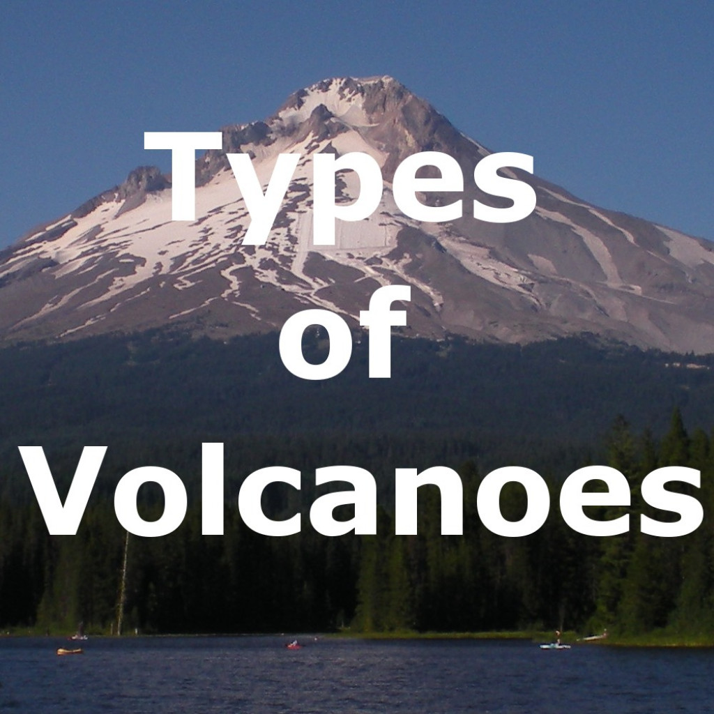 4 Different Types Of Volcanoes  Cinder Cones  Lava Domes  Shield And Composite Volcanoes