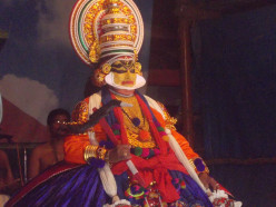 Do you like the art form of Kerala named' Kathakali '?