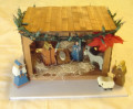 How to Make a Wooden Stable and Nativity Figures