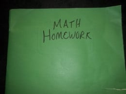 Folders can be assigned to a specific subject to help organize your child's homework papers.