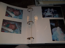 A glimpse inside my youngest son's memory book.  He was 2 months premature and he spent his first month of life in the NICU.