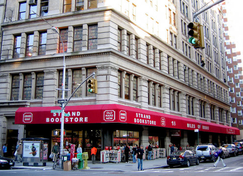 The Strand Book Store in Manhattan.