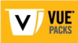 this is the badge of vue coffee packs