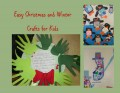 Easy Christmas and Winter Crafts for Kids