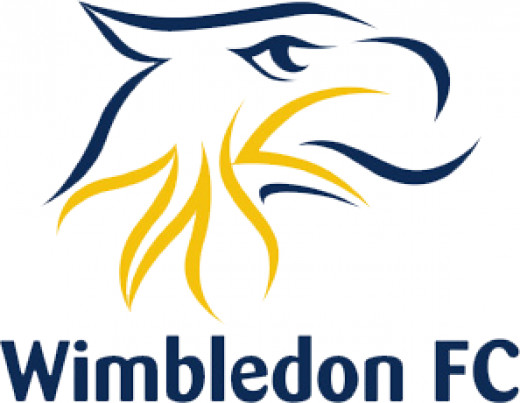 Wimbledon FC's logo in the last year of their existence
