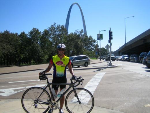 Bike in St. Louis