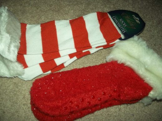 Christmas socks!