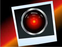 "Hal 9000 from ""2001, A Space Odyssey"""