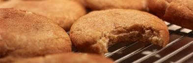 snickerdooles - cookies rolled in cinnamon and sugar. Irresistible!