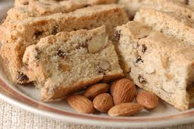 biscotti - another Christmas favorite, with anise and almonds.