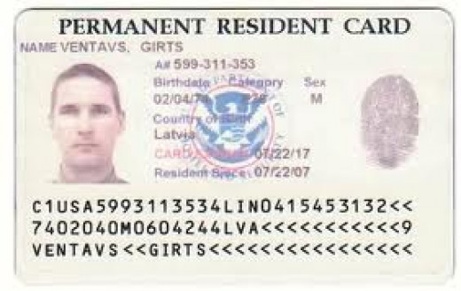 Permanent Resident Card Number Location Advance Parole ...