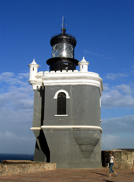 Thomas Fanos photographed the Lighthouse at Fort San Felipe del Morro (El Morro Castle) on August 9, 2008.