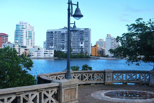 The Condado Lagoon was photoraphed by Thief12 on January 2, 2012.