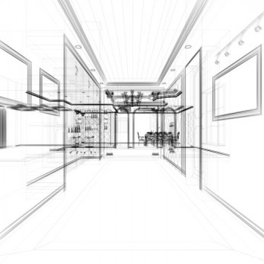 Interior Design Illustation