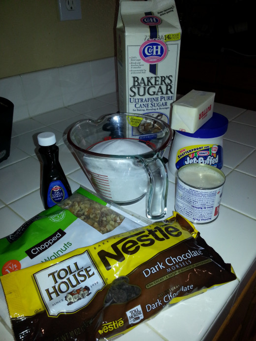 Assemble all ingredients before starting to cook so all you  attention can be focused on stirring the candy mixture.