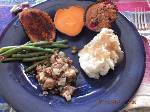 A vegetarian Thanksgiving that even meat eaters will enjoy!