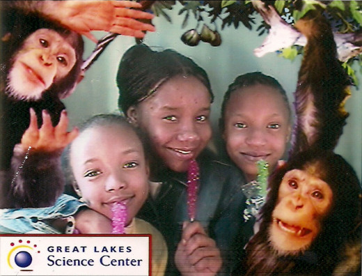 Taken at the Great Lakes Science Center, Cleveland, Ohio 1999.