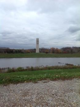 (C)Kathy Allen. 2012 Carillion Bell Tower in Dayton, Ohio