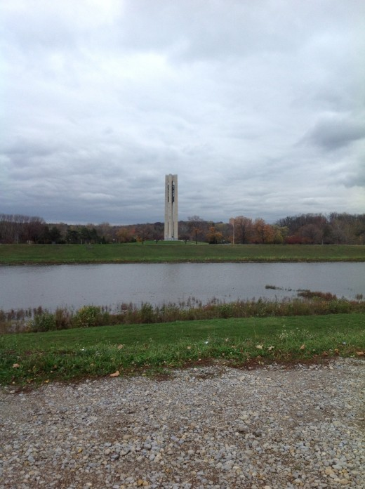(C)Kathy Allen. 2012 Carillion Bell Tower in Dayton, Ohio
