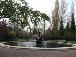 Triton Fountain in the Queen Mary's  Garden