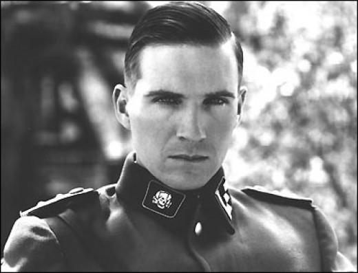 Ralph Fiennes chilling Nazi Commandant.