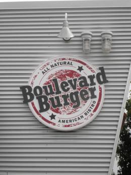 Boulevard Burger logo at Castro Valley Ca.