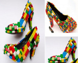 Are these cool or what? Probably not too comfortable to wear for any length of time, but they look neat!
