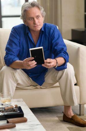 Michael Douglas as Gordon Gekko in Wall Street: Money Never Sleeps
