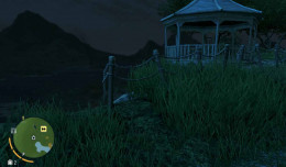 Farcry 3 Cave Under Earnhardt's Mansion (under the white pavilion).