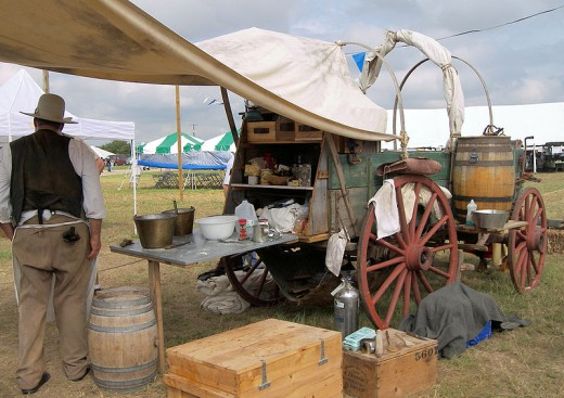 While Texans may not want beans in their chili beans were an important part of their life and the Chuckwagon cook often cooked Cowboy Beans.