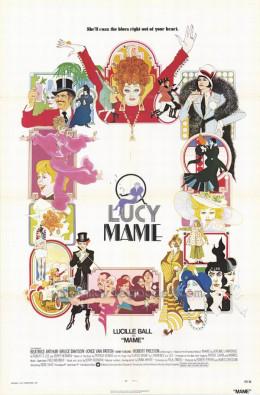 Mame (1974) art by Bob Peak