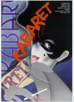 Cabaret (1972) Czech poster