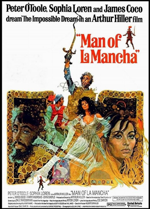 Man of La Mancha (1972) art by Ted Coconis