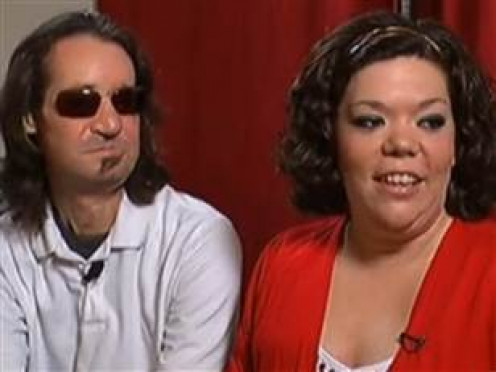 Dallas Wiens and his fiancée, Jamie Nash.